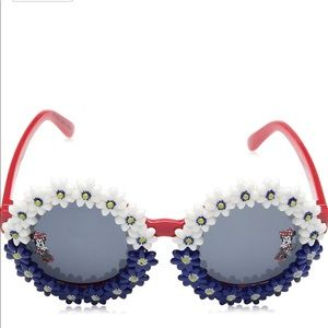 DISNEY Minnie Mouse Red White Blue Sunglasses